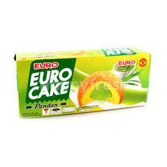 Euro Pandan Cakes