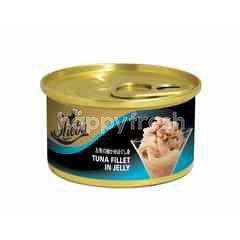 Sheba Can Cat Wet Food Adult Tuna Fillet in Jelly 85G Cat Food