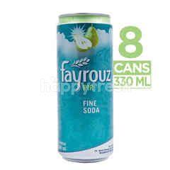 Fayrouz Pear Canned Fine Soda (8 cans)