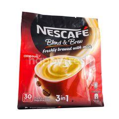 Nescafé Blend & Brew Premix Coffee Original (30 Sticks)