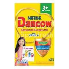 Dancow Advanced Excelnutri+ 3+ Susu Bubuk Rasa Vanila