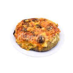 Tomato Mushroom Foccacia (V)