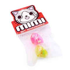Mimi Twin Colour Ball Cat Toy (2 Pieces)