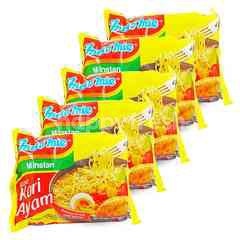 Indomie Mie Kuah Instan Rasa Kari Ayam