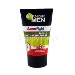 Garnier Men Acno Fight 6-IN-1 Anti-Acne Foam