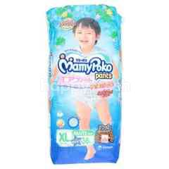 Mamy Poko Baby Diapers Pants For Boys Size XL (38 Pieces)