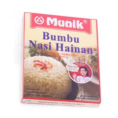 Munik Hainan's Chicken Rice Seasoning