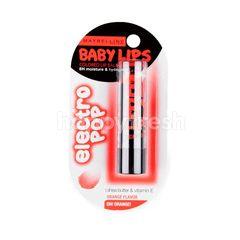 Maybelline Baby Lips Electro Pop Oh! Orange!