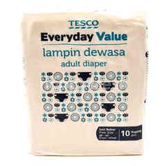 Tesco Everyday Value Adult Diaper (Free Size)