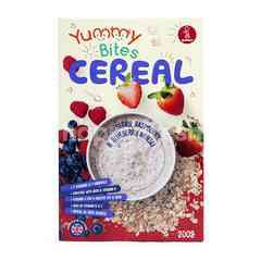 Yummy Bites Cereal Strawberry, Raspberry & Blueberry Muesli