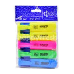 Kings Highlighter (5 Pcs)