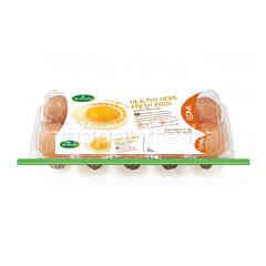 Betagro Hygienic Eggs No.2 10 Pcs