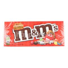 M&M Chocolate Candy Peanut Butter