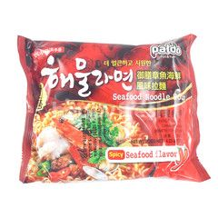 Paldo Mie Kuah Rasa Seafood Pedas