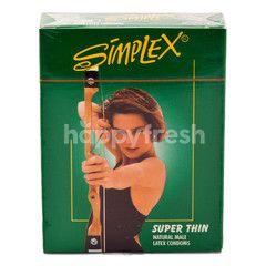 Simplex Super Thin Natural Male Condom