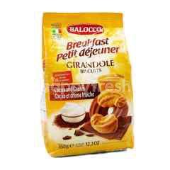 Balocco Breakfast Girandole Biscuits (Cocoa & Cream)