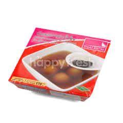 Thai Rich Black Sesame Dumpling In Ginger Soup