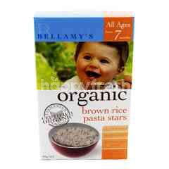 BELLAMY'S Organic Brown Rice Pasta Stars