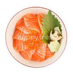 Nippon Kai Salmon Ikura Don