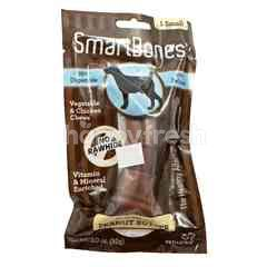 SmartBones Vegetable and Chicken Chews Small Stick Peanut Butter