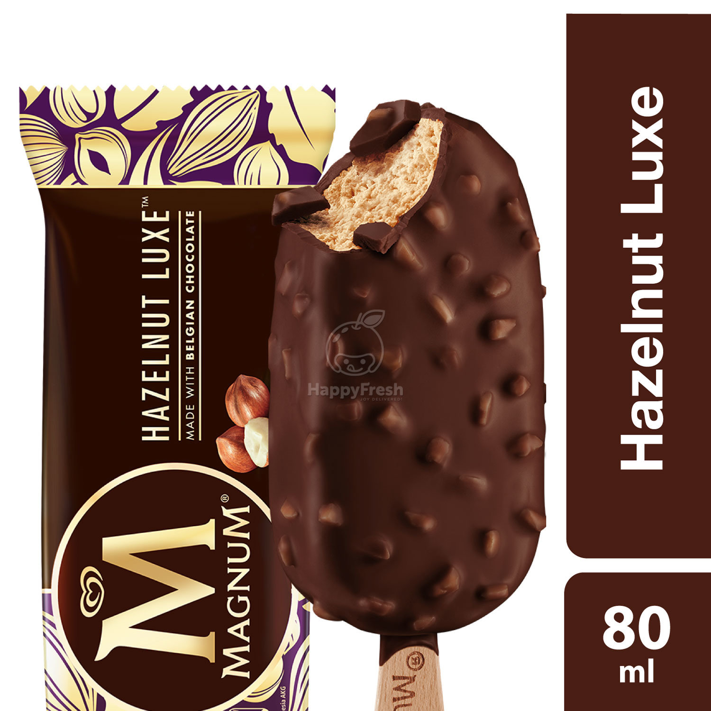 Wall S Magnum Hazelnut Luxe Ice Cream