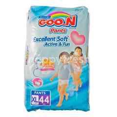 Goo.N Speed Dry & Excellent Fit Popok Celana Bayi Ukuran XL