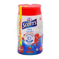 Scott's DHA Gummies Strawberry Flavor (75 Tablets)