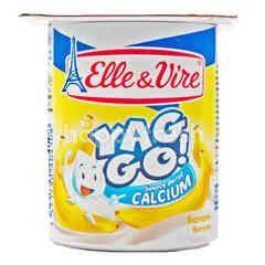 Elle & Vire Yag Go! Banana Yogurt