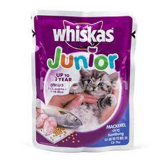 Whiskas Junior Makanan Anak Kucing Rasa Ikan Kembung