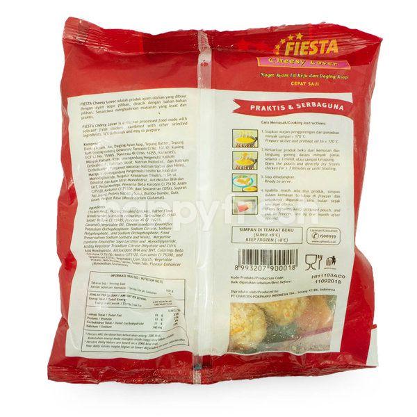 Fiesta Cheesy Lover Chicken Nugget