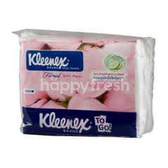 Kleenex Facial Tissues Floral