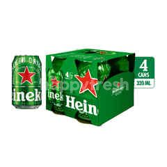 Heineken Bir Lager Internasional Kaleng Multi-pack
