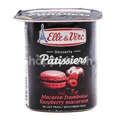 Elle & Vive Dessert Patissiers Raspberry Macaroon
