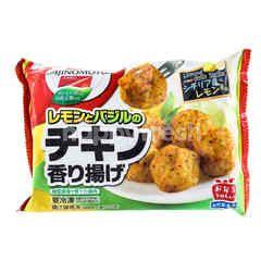 Ajinomoto Fried Lemon Chicken (Lemon & Basil Chicken Kaoriage)