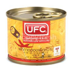 UFC Sweetened Pickled Mustard Leaf Chili