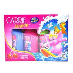 CARRIE Junior Mini Gift Pack Shampoo - Cheeky Cherry