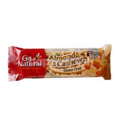 GO NATURAL Almond & Cashew Snack Bar