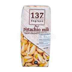 137 Degrees Susu Pistachio dengan Sedikit Rasa Manis dari Nektar Bunga Kelapa