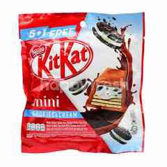 KitKat Mini Cookies & Cream 5 In 1 Free