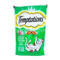 Temptations Cemilan Kucing Rasa Seafood