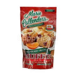 Marie Callender's Tepung Premiks untuk Muffin Cranberi Jeruk