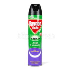 Baygon 23 Eliminate Mosquitos Ants Cockroaches Spray Lavender