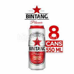 Bintang Pilsener Canned Beer 8 Packs