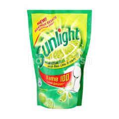Sunlight Lime Dishwashing Liquid Refill 700Ml