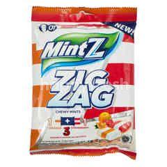 MintZ Zig Zag Permen Lunak Rasa Jeruk dan Stroberi