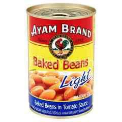 Ayam Baked Beans In Tomato Sauce Light 425g