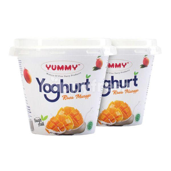 Yummy Yogurt Fruit Mango