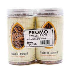 Love Earth Promo Twin Pack Of Natural Almond