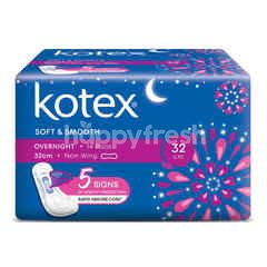 Kotex 32cm Heavy Flow/Night Wing Pads (16 Pads)