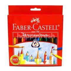Faber- Castell 24 Tri Colour Pencils